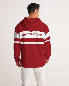 WHITE LINE IN THE RED MEN´S HOODIE - Esedece skateboards