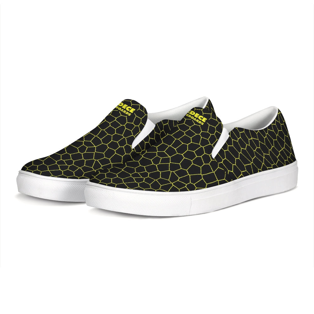 LEMON BOOST SLIP-ON CANVAS SHOES - Esedece skateboards