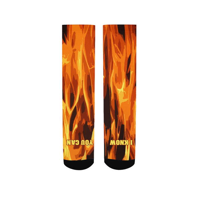 SKATE FOOT OF FIRE SOCKS - Esedece skateboards