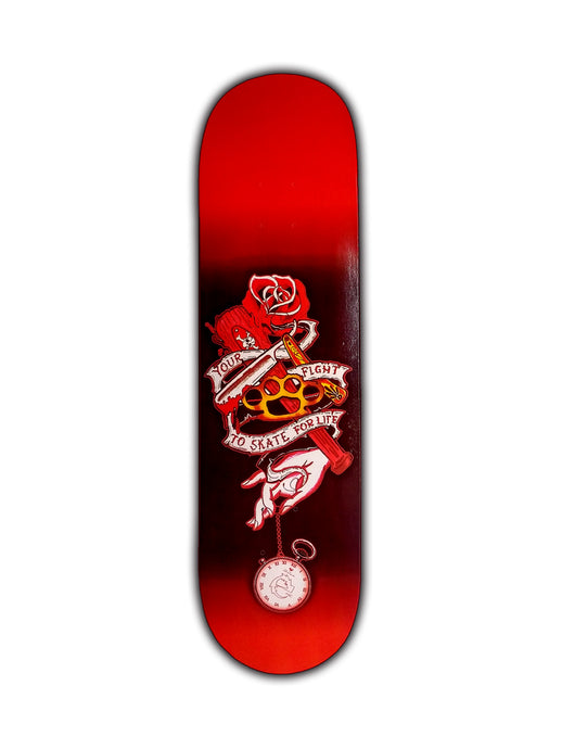 SKATE DECK YOUR FIGHT - Esedece skateboards