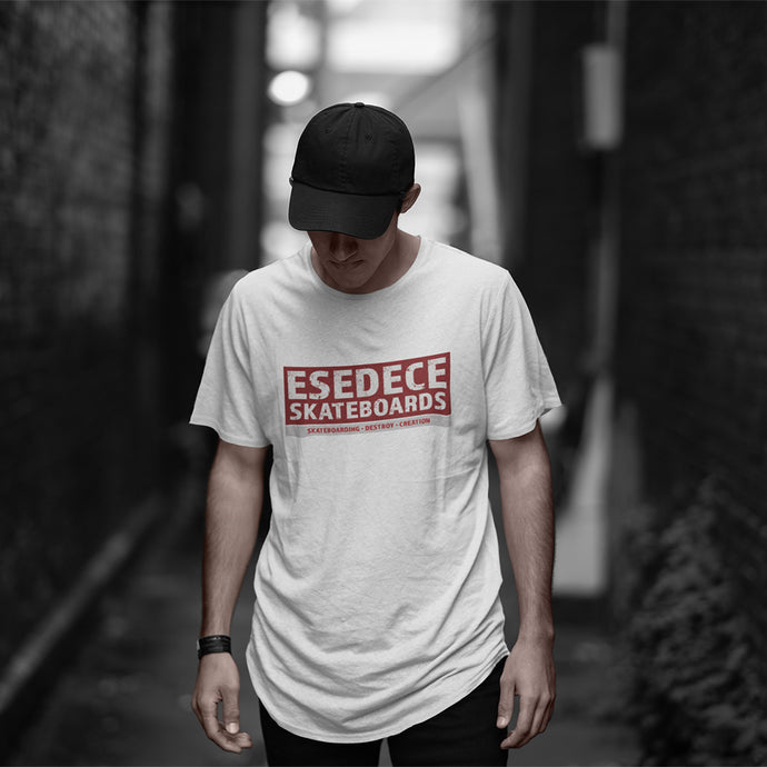 SKATE PHILOSOPHY  MEN'S T-SHIRT - Esedece skateboards