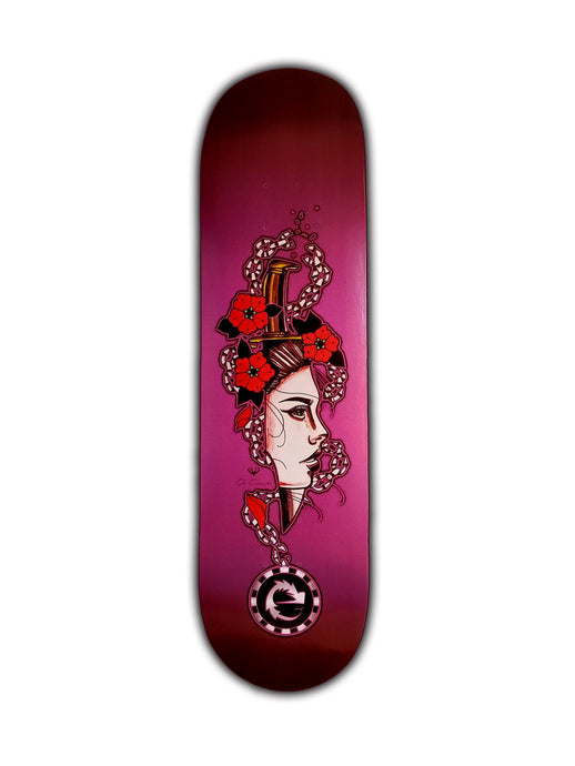 SKATE DECK LADY DAGGER - Esedece skateboards