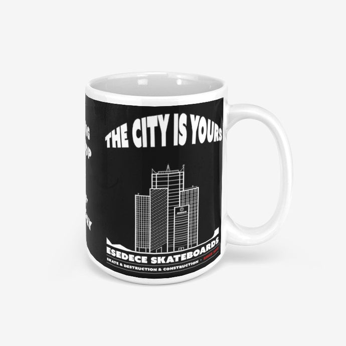 YOUR CITY CLASSIC GLOSSY MUG - Esedece skateboards