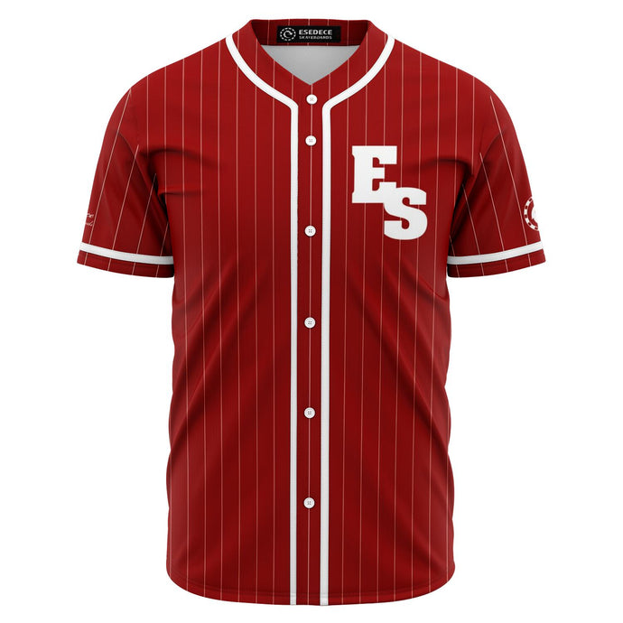 BASEBALL SKATER RED SHIRT - Esedece skateboards