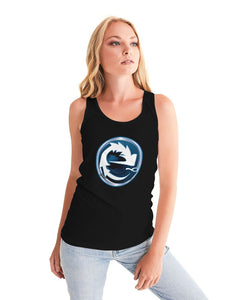 NAUGHTY BLUE BLACK WOMEN´S TANK - Esedece skateboards