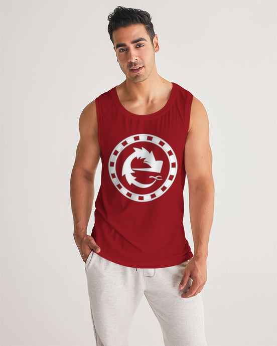 CLASSIC LOGO RED MEN´S SPORT TANK - Esedece skateboards