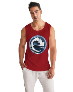 NAUGHY BLUE RED MEN´S SPORT TANK - Esedece skateboards