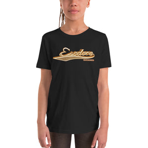 BASEBALL GOLD COTTON KIDS´S TEE - Esedece skateboards