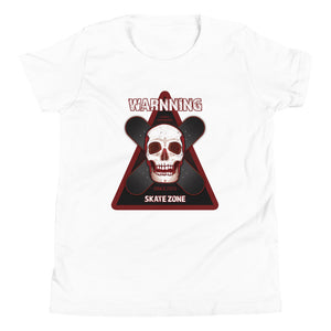 SKATE ZONE COTTON KIDS´S TEE - Esedece skateboards