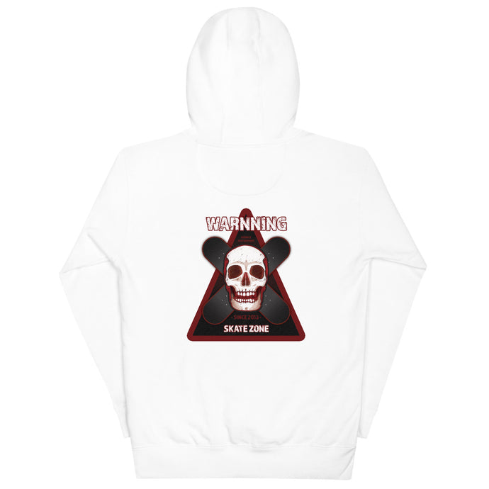SKATE ZONE COTTON UNISEX HOODIE - Esedece skateboards