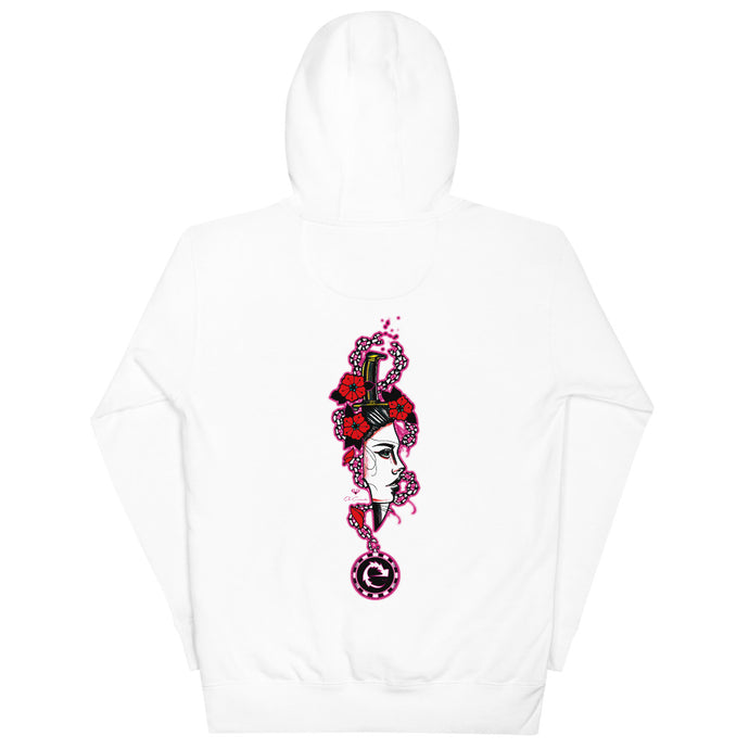 LADY DAGGER UNISEX COTTON HOODIE - Esedece skateboards