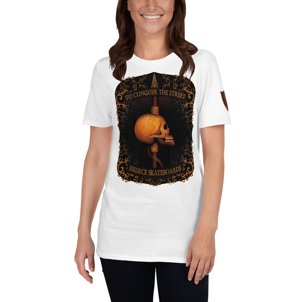 MARK OF CONQUEST COTTON WOMEN´S TEE - Esedece skateboards