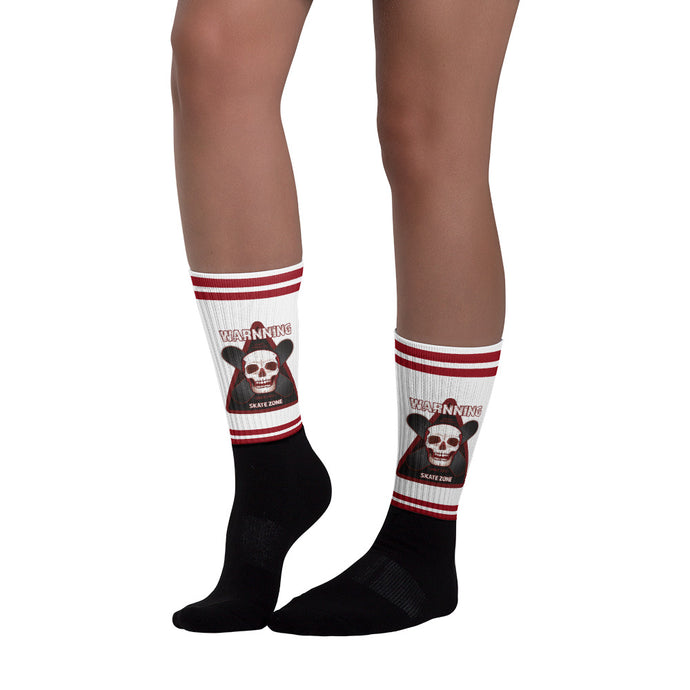 SKATE SKATE ZONE SOCKS - Esedece skateboards