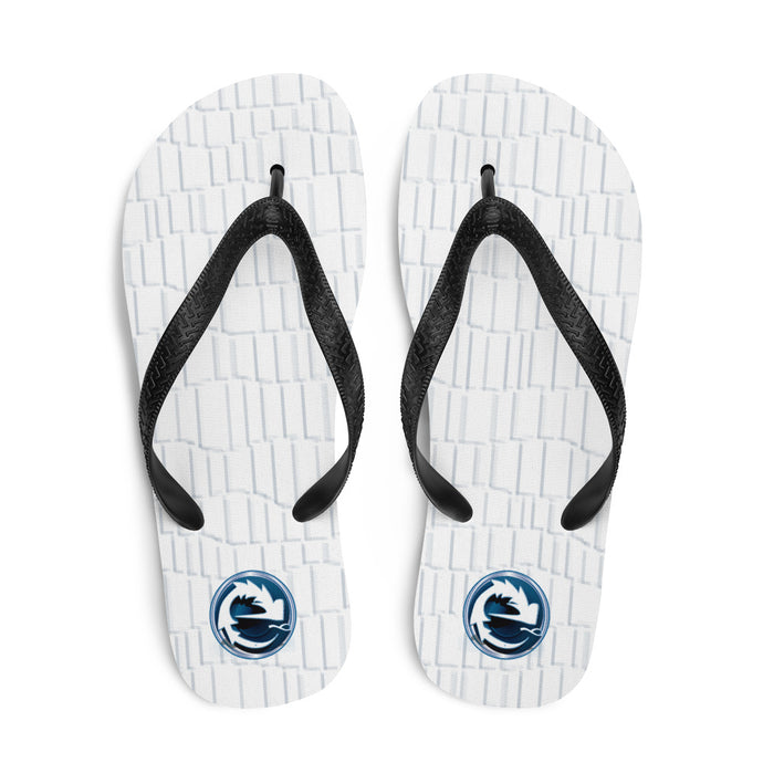 NAUGHTY BLUE BEACH FLIP FLOPS - Esedece skateboards
