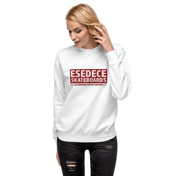 SKATE PHILOSOPHY COTTON WOMEN´S  SWEATSHIRT - Esedece skateboards