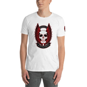 WINGED SKULL COTTON MEN´S TEE - Esedece skateboards