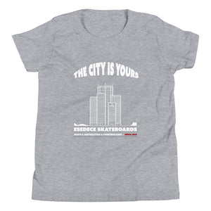 YOUR CITY COTTON KIDS´S TEE - Esedece skateboards