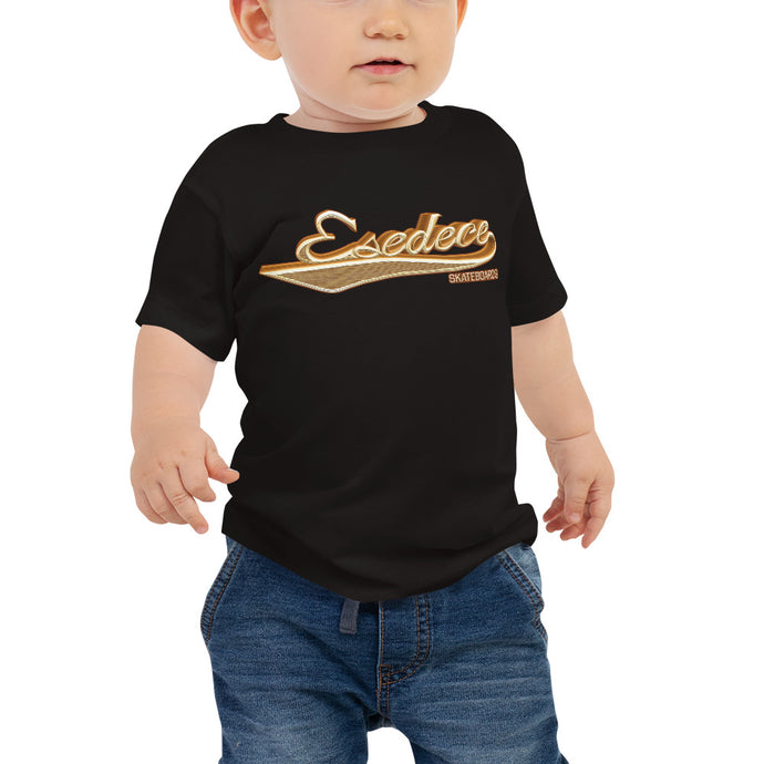 BASEBALL GOLD BABY T-SHIRT - Esedece skateboards