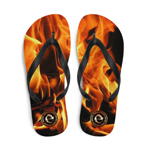 ON FIRE BEACH FLIP FLOPS - Esedece skateboards