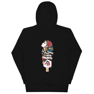 LUCKY GIPSY UNISEX COTTON HOODIE - Esedece skateboards