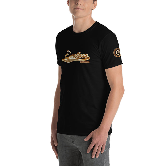 BASEBALL GOLD COTTON MEN´S TEE - Esedece skateboards