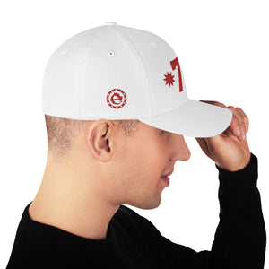 THE BEST TEAM WHITE BASEBALL DAD CAP - Esedece skateboards