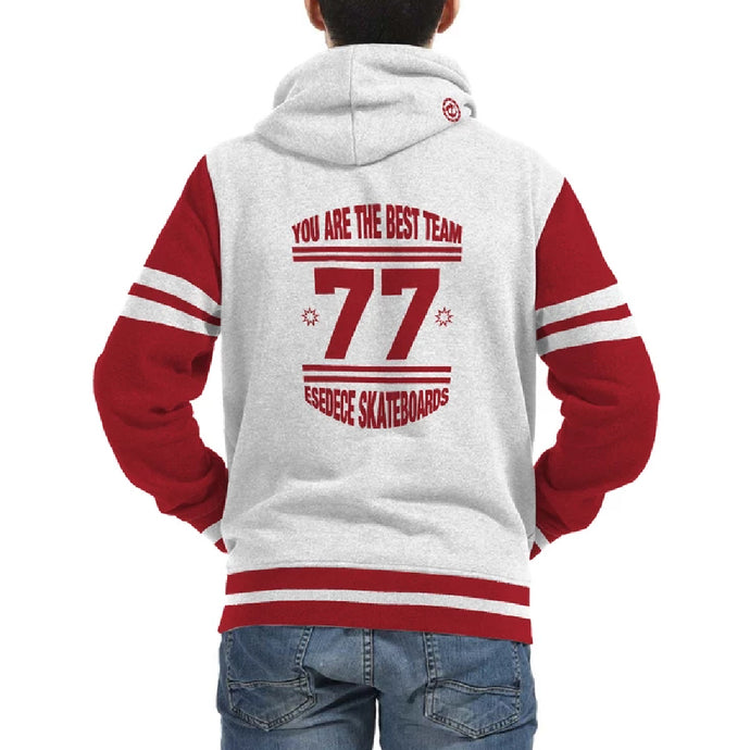 Sudadera abierta con capucha You are the best team