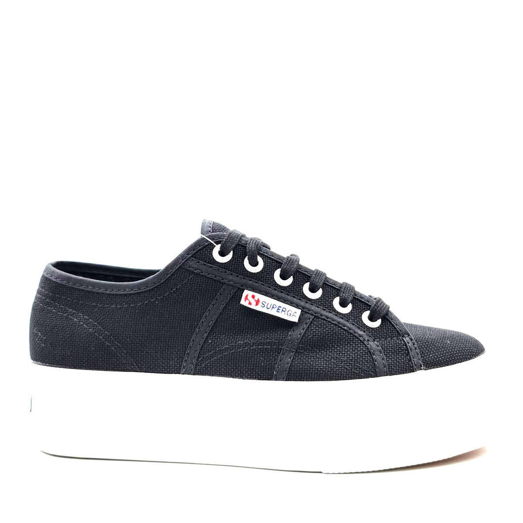 SUPERGA platform black HW