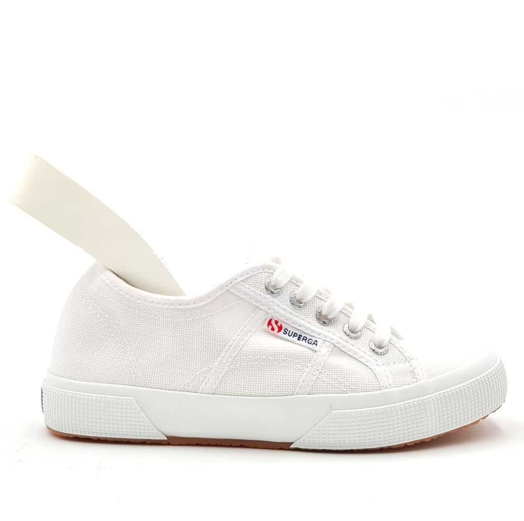 SUPERGA 2750 plus bianco zeppa interna 10X