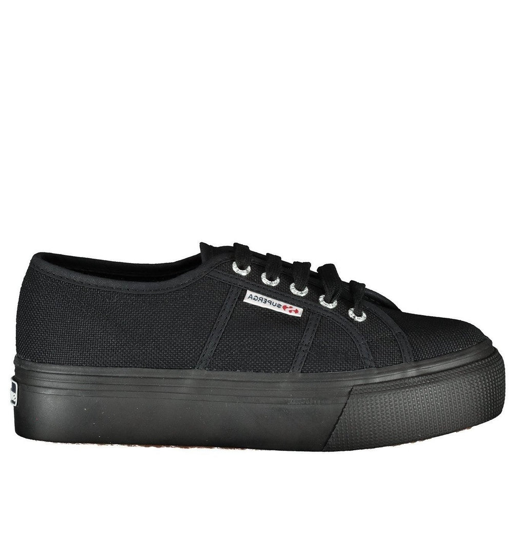 SUPERGA platform total black