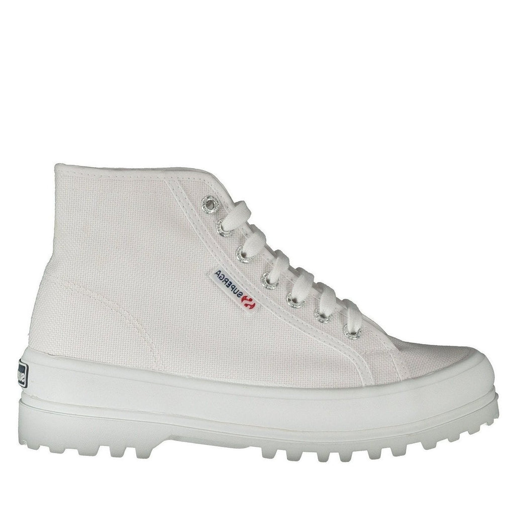 SUPERGA desert boot bianca