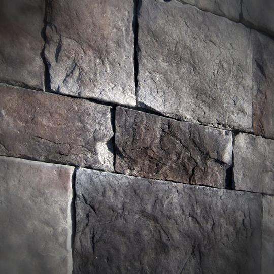 Black Bear Mountain Stone - Stone Veneer - Hackett Stone Midnight