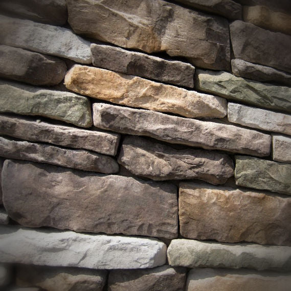 Black Bear Mountain Stone - Stone Veneer - Ledge Stone Mossy Creek