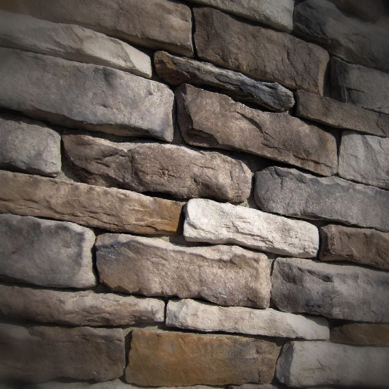 Black Bear Mountain Stone - Stone Veneer - Ledge Stone Rustic