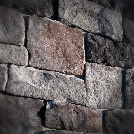 Black Bear Mountain Stone - Stone Veneer - Lime Stone Midnight