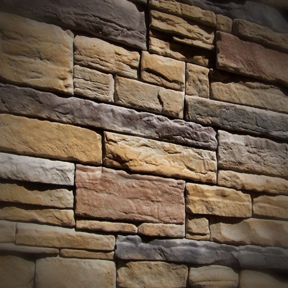 Black Bear Mountain Stone - Stone Veneer - Ready Stack Sienna