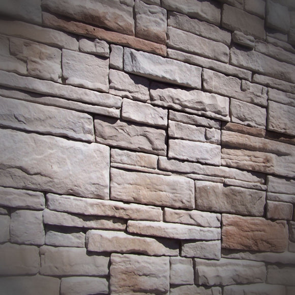 Black Bear Mountain Stone - Stone Veneer - Ready Stack White Oak