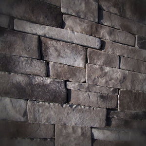 Black Bear Mountain Stone - Stone Veneer - Stack Stone Cool Gray