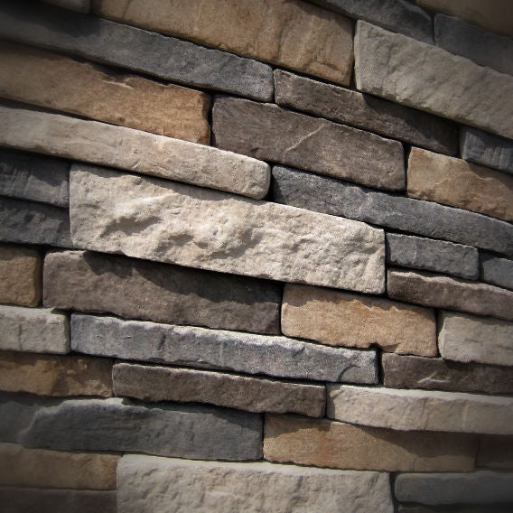 Black Bear Mountain Stone - Stone Veneer - Stack Stone Ozark