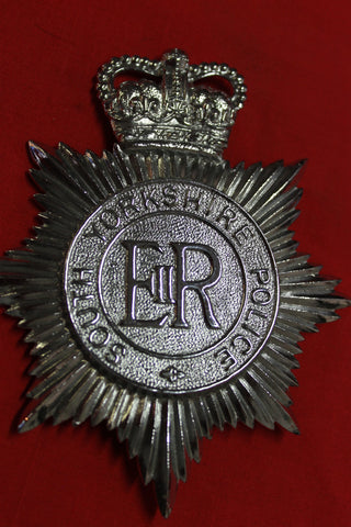South Yorkshire Police Helmet Plate
