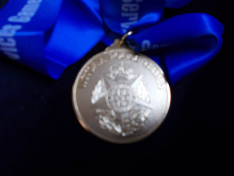 Victoria Police Games Un-awarded Gold Medal
