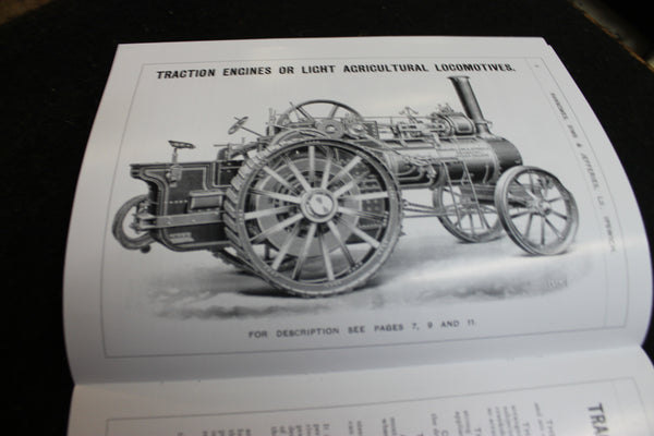 Traction Engines , Road Locomotives , Wagons . &c