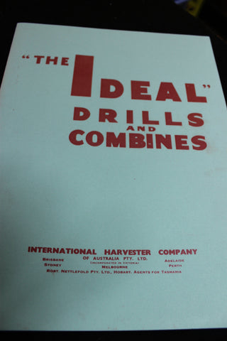 """ The Ideal "" Drills and Combines Catalogue"