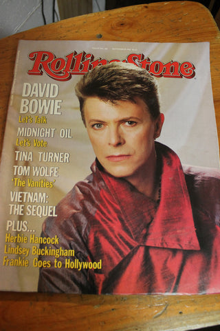 November 1984 Rolling Stone