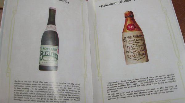 Rowland's Jubilee Bottle Jubilee Book