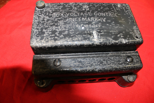 WW2 - Air Ministry Aircraft Voltage Control Box