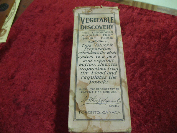 Early 1900's - Vegetable Discovery Package