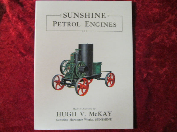 Sunshine Petrol Engines Catalogue