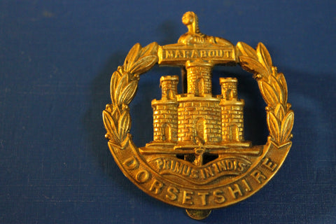 Dorsetshire Cap Badge