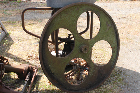 Very Large Steel Pulley